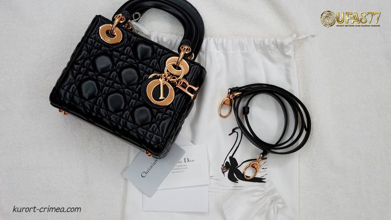 Dior Mini Lady Dior Lambskin Bag